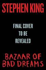 The Bazaar of Bad Dreams: Stories by Stephen King Hardcover Book (English)
