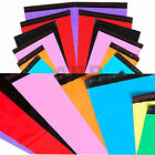 Strong Coloured Plastic Post Mailing Postage poly Bags Self seal All Sizes