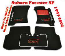 Subaru Forester SF 1997-2002 RHD Fully Tailored Luxury Carpeted Car Floor Mats
