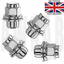 4 x original spec M12 x 1.5 21mm Hex, flat Seat O.E style alloy wheel nuts lugs