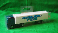 VINTAGE MAJORETTE VOLVO  TRUCK IN CHANNEL ISLAND FREIGHT  LIVERY