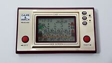 NINTENDO GAME & WATCH CHEF WIDE SCREEN  RARE HANDHELD LCD VINTAGE