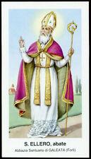 """santino-holy card""""""""ediz. EGIM  n.73 S.ELLERO AB.-GALEATA"""