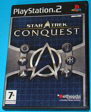 Star Trek Conquest - Sony Playstation 2 PS2 - PAL