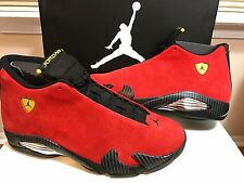 NIKE AIR JORDAN XIV 14 RETRO FERRARI TORO RED CHICAGO [654459-670] *DS SIZE