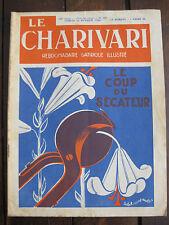 Journal 1936 N°503 Charivari Hebdomadaire satirique illustré R soupault
