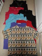 8 XL-XXL women's shirts - see details (bonmarche, liz baker, valerie stevens)
