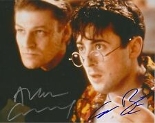 Sean Bean & Alan Cumming dual autographed signed 8x10 photograph holo COA