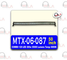 120 LED 300w 3500 LUMINS Temp:6000K 50 INCH