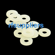 Lots of 200pcs Plastic Nylon spacer Flat washers metric 3*6*1.2mm High quality