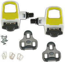 2016 NEW LOOK KEO CLASSIC 2 Special Edition Road Pedals &Cleats WHITE/ACID GREEN