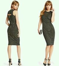 $228 GUESS BY MARCIANO BATTLE LUXE PENCIL DRESS ����