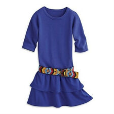 American Girl Saige's Dress & Belt for Girls Size 10 Saige Meet Outfit NEW