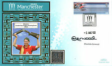 2002 COMMONWEALTH GAMES BENHAM COVER SIGNED TRAP SHOOTER CHARLOTTE KERWOOD