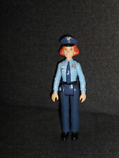 PLAYSKOOL LOVING FAMILY WOMAN POLICE OFFICER COP PLASTIC DOLL HOUSE FIGURE