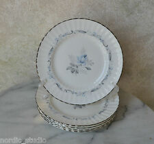 VTG Paragon MORNING ROSE set of 5 Bread and Butter Plates, bone china