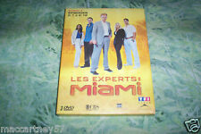 COFFRET 2 DVD LES EXPERTS MIAMI SAISON 2 ET EPISODE 2,1 à 2,12 total 12 episodes