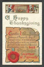 PPC* A23 THANKSGIVING POEM EMBOSSED POSTED