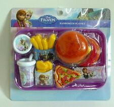 Disney Frozen Hamburger Playset Kitchen Cooking set Kids toy X'mas Gift Children