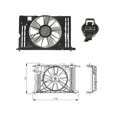 Electric A/C Condenser Fan Assembly Fits: 2009 - 2010 Pontiac Vibe L4 1.8L ONLY