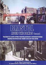 Bristol After The Bombs Dvd - Vol 2:Post WW2 Temple Redcliffe Kingsdown St Judes