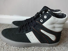 Creative recreation moretti sample mens mid trainers black uk 8 eu 42 us 9 new