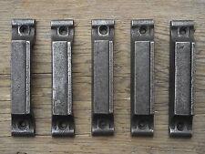 5 Victorian Vintage Style Cast Iron Rimlock Door Keeps lock knobs door pine pull