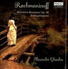 NEW Rachmaninoff: Moments Musicaux, Op. 16; Transcriptions by... CD (CD)