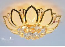 Flower Modern Ceiling Light With Glass Lampshade Gold Ceiling Lamp Bedroom home