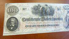 100 Dollar 1862 Confederat Sate Of America