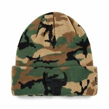 New Era nba chicago bulls camouflage logo limited edition beanie ajustée chapeau