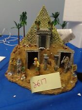 Lemax Spooky Town Haunted Pyramid 84770 As-Is 2617