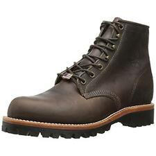 Chippewa 6552 Mens Brown Leather Lace Up Ankle Boots Shoes 11.5 Medium (D) BHFO