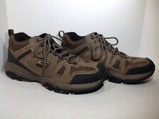 Sketchers Men's Size 12 Cross Court TR Open Country Brown Athletic Shoes ZD-402