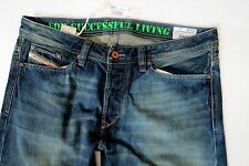 Diesel Men Jeans 33 W x 34 Viker 882T Aged Distressed Brand New with Tags