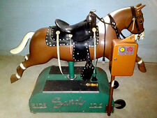 Sandy Coin Operated Horse Vintage Kiddie Ride