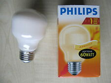 **RARITÄT** Philips Glühlampe T55 230V E27 60W Softone APRICOT ORANGE 366603