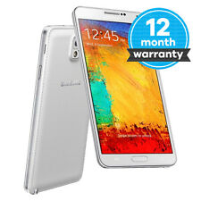Samsung Galaxy Note 3 III SM-N9005 - 16GB - White (Unlocked) Good Condition