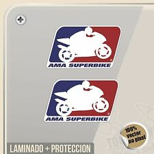 PEGATINA KIT AMA SUPERBIKE USA VINYL STICKER DECAL ADESIVI