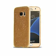 Ultra Clear Gel Case Cover & Tempered Glass for Samsung Galaxy A3 / A5 2016 2017