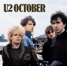 October [2 CD Remastered Deluxe Edition] 2008 by u2 Ex-library