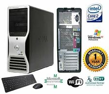 Dell 390 Workstation TOWER PC COMPUTER Intel C2D Quad 2.40GHz 4GB 1TB HD Win XP