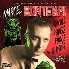 MARCEL BONTEMPI - WITCHES,SPIDERS,FROGS & HOLES  CD NEU