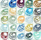 Wholesale 20pcs Faceted crystal glass Teardrop Loose Spacer beads 16*8mm