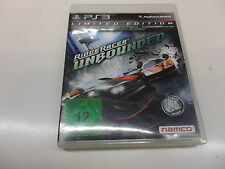 PlayStation 3 PS 3  Ridge Racer Unbounded - Limited Edition