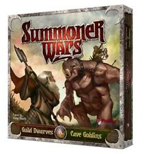 Summoner Wars Starter Guild Dwarves Vs Cave Goblins