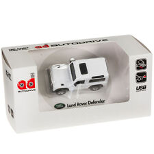 Land Rover Defender Sports Car USB Memory Stick Flash Pen Drive 8Gb - White