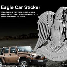 TIGERGO | 3D METAL LOGO Emblem Badge Decal Sticker for CAR BIKE | ANGEL EAGLE