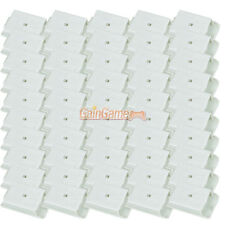50X Battery Pack Case Cover Shell KIT for Xbox 360 Controller White US
