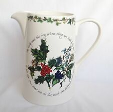 NEW Portmeirion The Holly and The Ivy Jug - Bella Large Jug 3 Pints - UNUSED